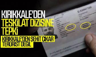 Kırıkkaleliler 'TRT1' ve 'Teşkilat Dizisine Büyük Tepki Gösterdi