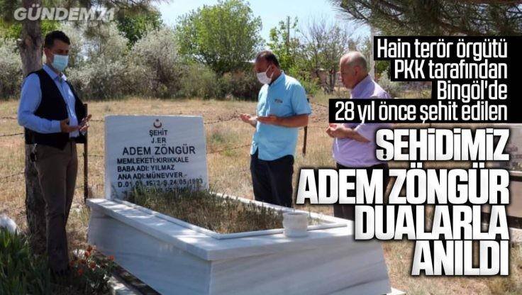 Kırıkkale'li Şehit Adem Zöngür ve Arkadaşları Anıldı