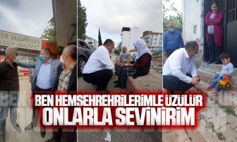 Halil Öztürk, Kırıkkale'de Hemşehrileriyle Buluşmaya Devam Ediyor