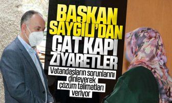 Kırıkkale Belediye Başkanı Mehmet Saygılı'dan Çat Kapı Ziyaretler