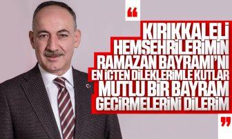 Kırıkkale Belediye Başkanı Mehmet Saygılı'dan Ramazan Bayramı Mesajı