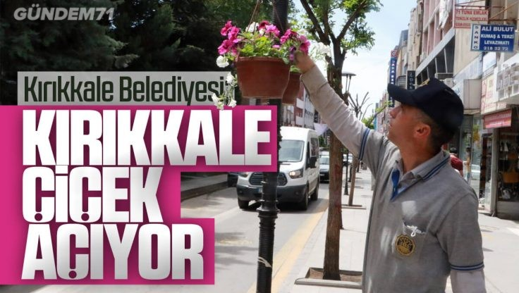 Kırıkkale Belediyesi Parkların Bakımına Aralıksız Devam Ediyor