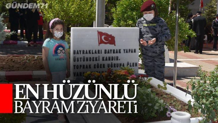 Arife Günü Kırıkkale Şehitliğinde Hüzünlü Ziyaret