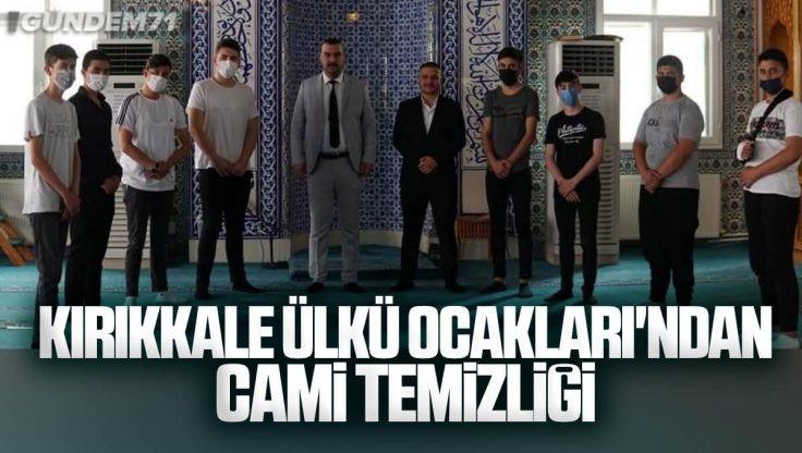Kırıkkale Ülkü Ocakları İhsaniye Cami Temizliği Yaptı