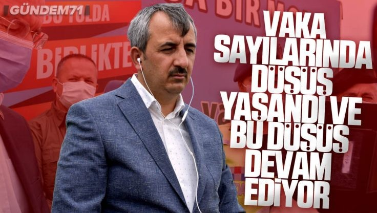Kırıkkale Valisi Yunus Sezer, Bakan Yardımcısı Erdil'e Kentteki Covid-19 Tedbirleriyle İlgili Bilgi Verdi