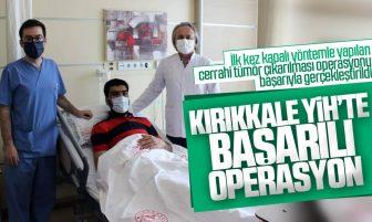 Kırıkkale Yüksek İhtisas Hastanesinde Kapalı Yöntemle Beyin Tümörü Operasyonu