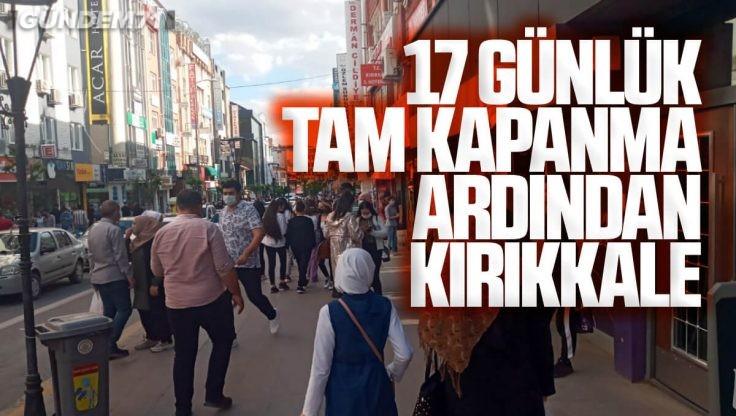 Tam Kapanma Ardından Kırıkkale'de Yoğunluk Oluştu