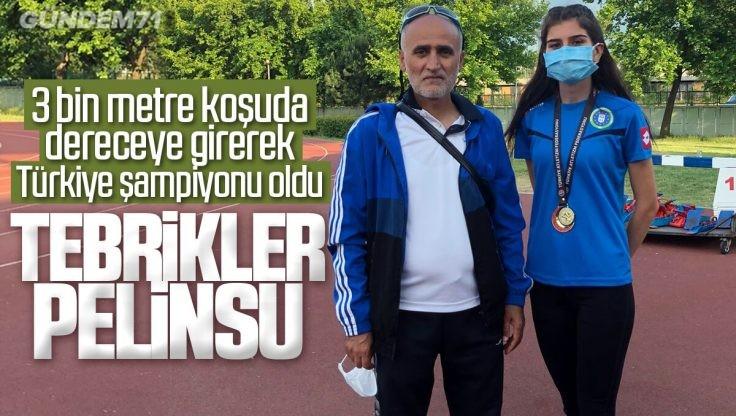 Pelinsu Şahin, Atletizm Şampiyonası'nda Kırıkkale'nin Gururu Oldu