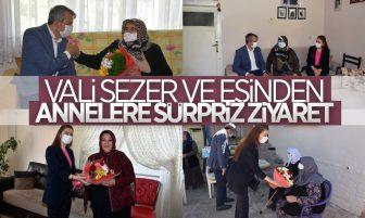 Kırıkkale Valisi Yunus Sezer ve Eşi Anneler Gününde Anneleri Ziyaret Etti