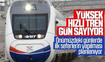 Ankara-Sivas Yüksek Hızlı Tren Hattı Gün Sayıyor