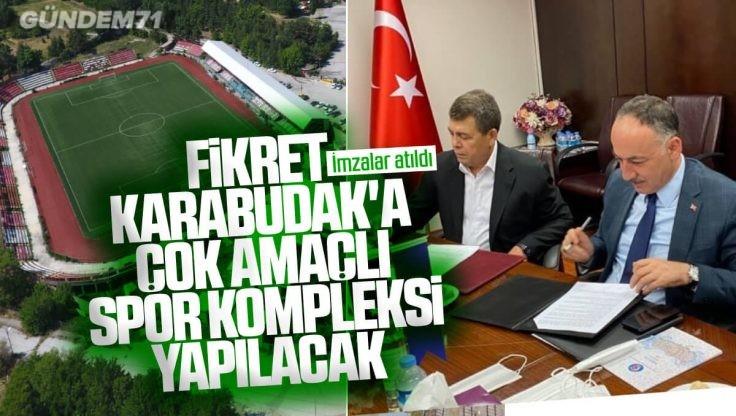 Kırıkkale Fikret Karabudak Stadına Türk Metal Sendikası Tarafından Çok Amaçlı Spor Kompleksi Yapılacak