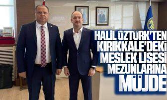 Halil Öztürk'ten MKE A.Ş. Genel Müdürü Yasin Akdere'ye Ziyaret