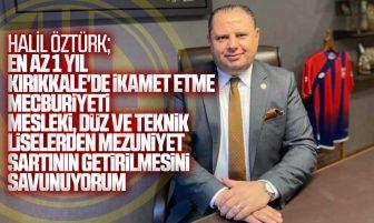 Halil Öztürk'ten MKE İşçi Alımı Açıklaması
