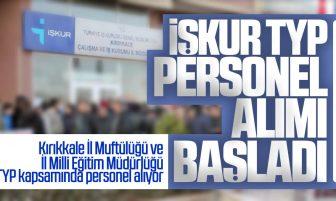 Kırıkkale İl Müftülüğü ve İl Milli Eğitim Müdürlüğü TYP Kapsamında Personel Alıyor