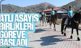 Kırıkkale'de Atlı Asayiş Birlikleri Göreve Başladı