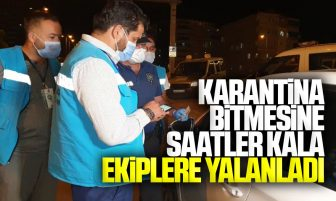 Kırıkkale'de Karantina Bitimine Saatler Kala Ekiplere Yakalandı