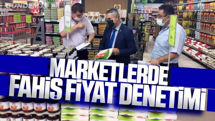Kırıkkale'de Marketlerde Haksız Fiyat Artışı ve Etiket Denetimi