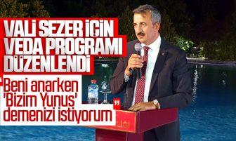 Kırıkkale Valisi Yunus Sezer İçin Veda Programı Düzenlendi