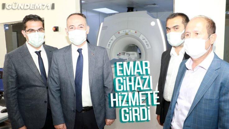 Kırıkkale Yüksek İhtisas Hastanesinde Emar Cihazı Hizmete Girdi