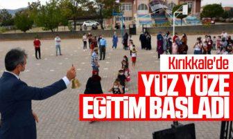 Kırıkkale'de Yüz Yüze Eğitimin İlk Zili Çaldı