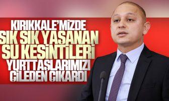 Ahmet Önal, Kırıkkale'nin Su Sorunlarını TBMM'de Dile Getirdi