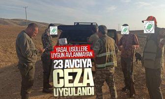 Kırıkkale'de 23 Avcıya Ceza Uygulandı