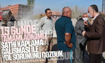 Kırıkkale Belediye Başkanı Mehmet Saygılı Çullu Mahallesi'nde Yol Çalışmasını İnceledi