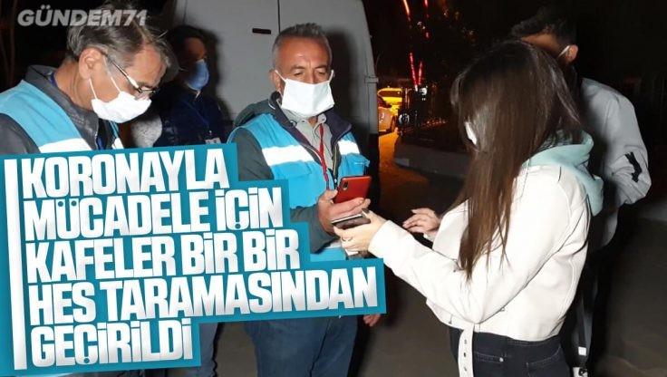 Kırıkkale'de Koronavirüsle Mücadele İçin Öğrencilerin Yoğun Olduğu Yerlerde HES Taraması Yapıldı