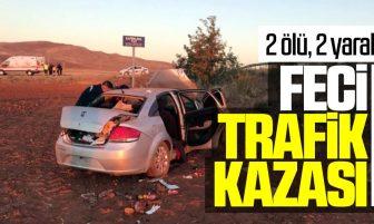 Kırıkkale'de Trafik Kazası 2 Ölü, 2 Yaralı