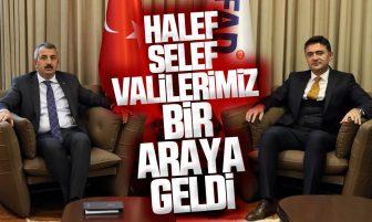 Kırıkkale Valisi Bülent Tekbıyıkoğlu, AFAD Başkanı Yunus Sezer'i Ziyaret Etti