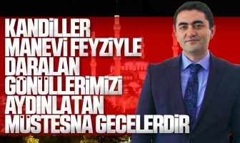 Kırıkkale Valisi Bülent Tekbıyıkoğlu'dan Mevlid Kandili Mesajı
