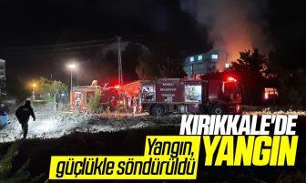 Kırıkkale'de Yangın; Maddi Zarar Oluştu