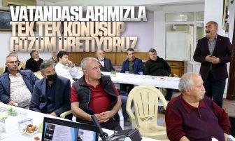 Osman Türkyılmaz, Halk Günü Toplantılarına Devam Ediyor
